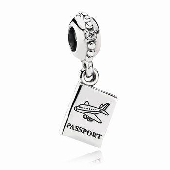 Pandora Adventure Awaits Dangle Charm, Clear CZ 791147CZ