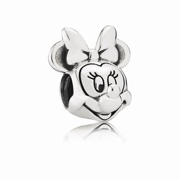 Pandora Disney, Minnie Portrait Charm 791587