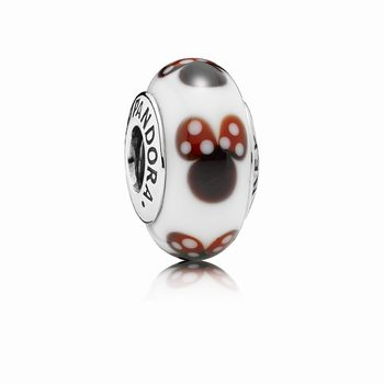 Pandora Classic Disney Minnie Charm, Murano Glass 791634